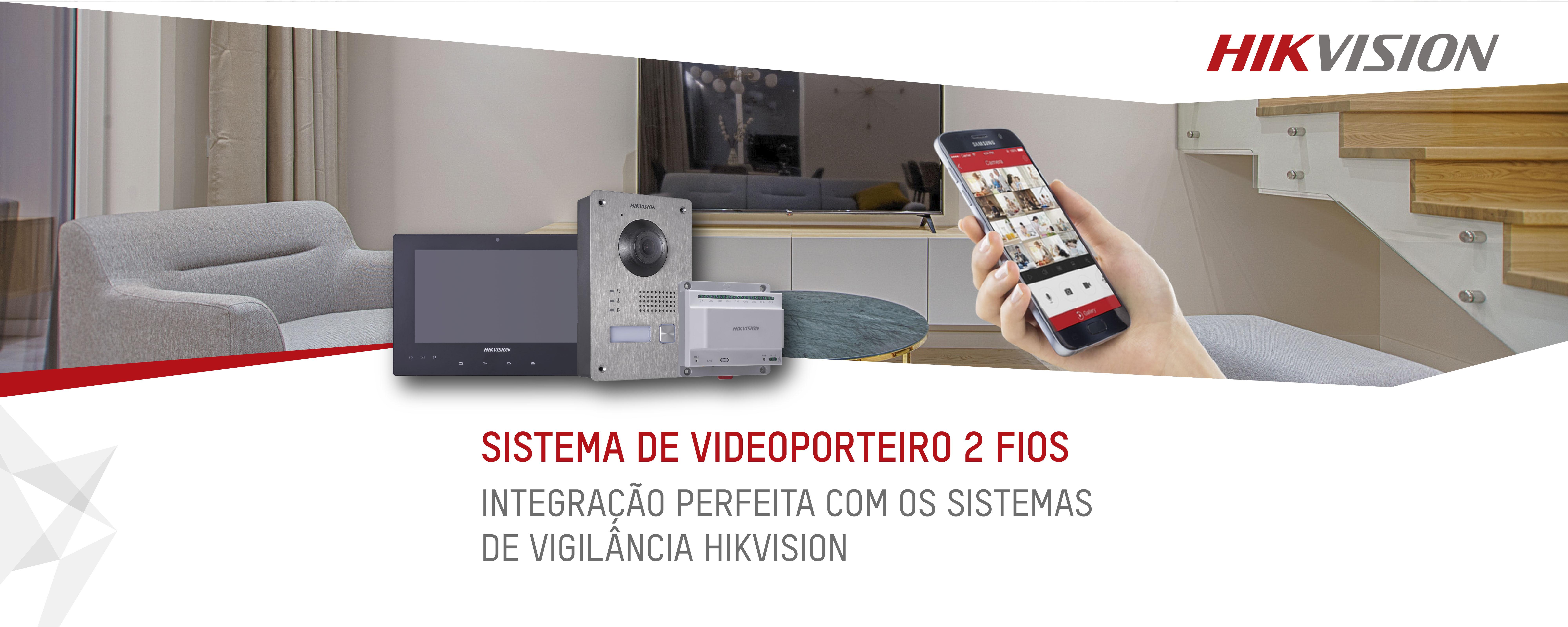 Videoporteiro IP Hikvision