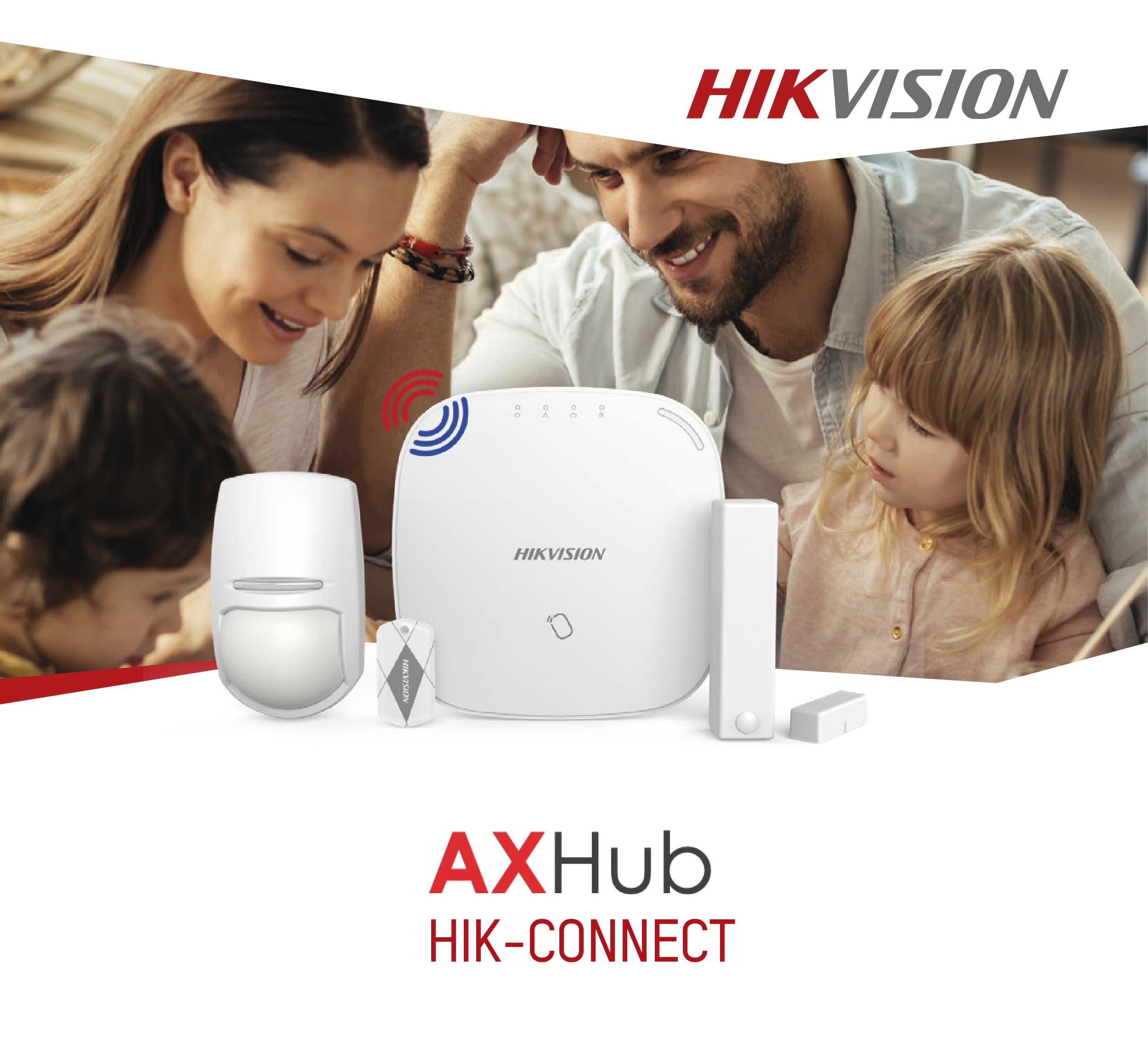 Aplicação Hik-Connect para o AXHub