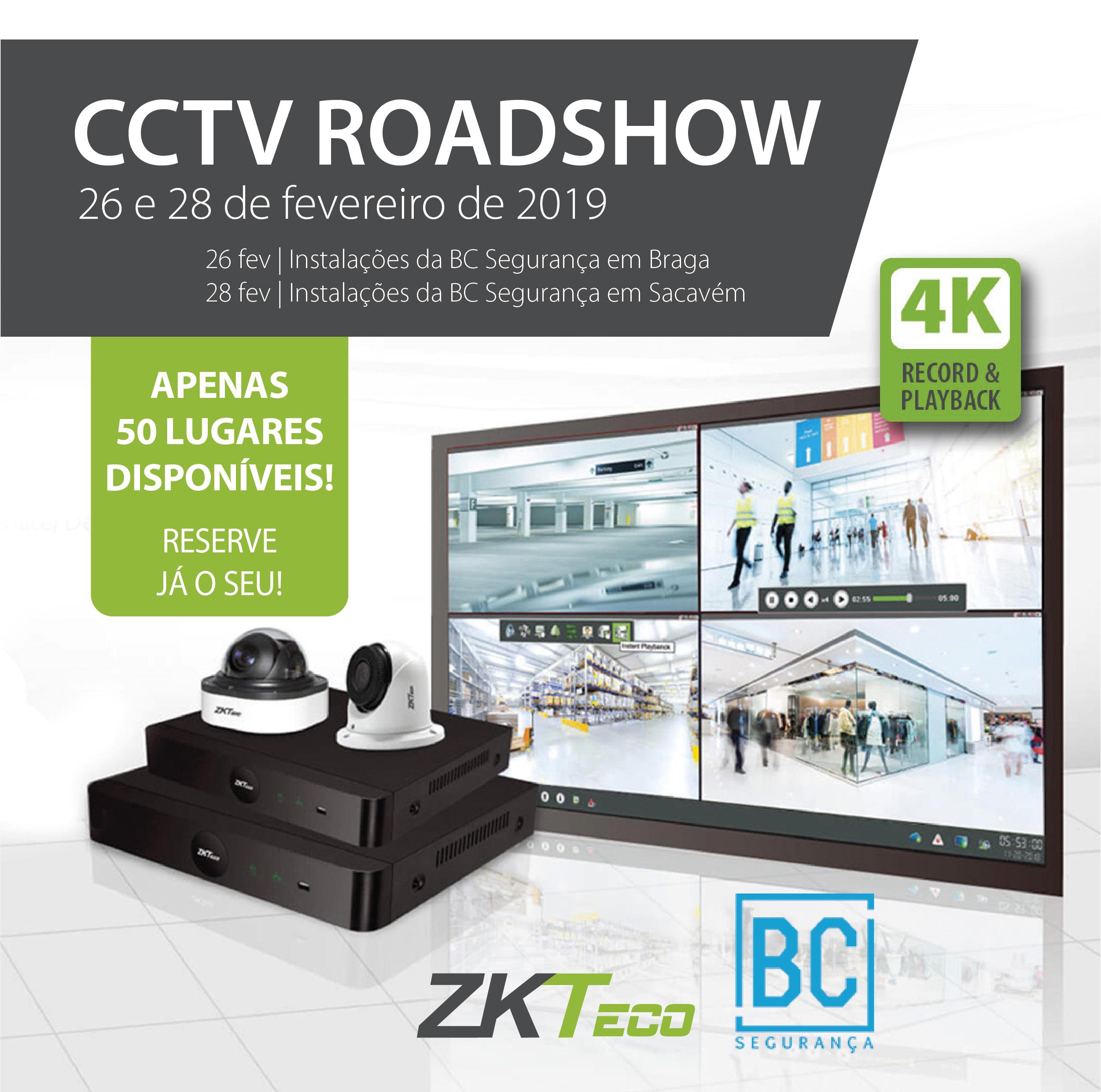 Roadshow CCTV BC SEGURANÇA | ZKTeco