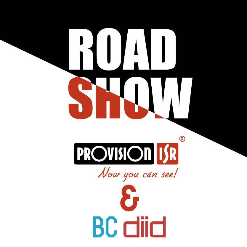 Roadshow BC Diid e Provision 12 e 14 de novembro