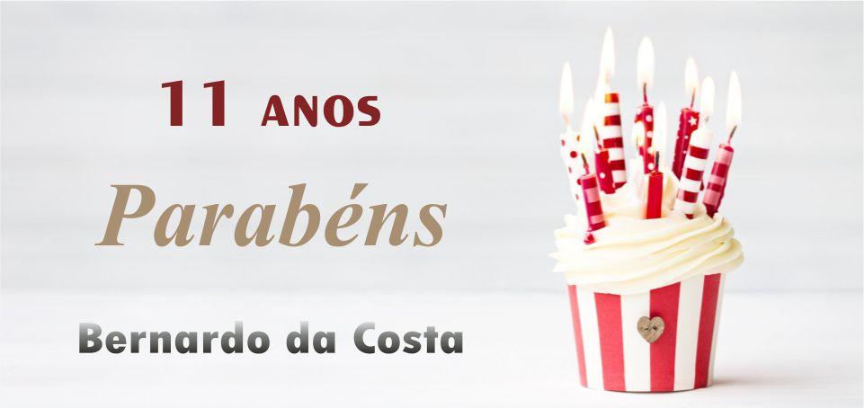 11 ANOS BERNARDO DA COSTA